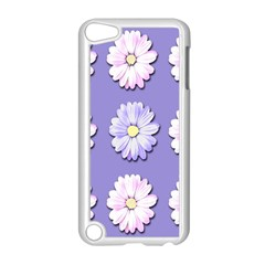 Daisy Flowers Wild Flowers Bloom Apple Ipod Touch 5 Case (white)