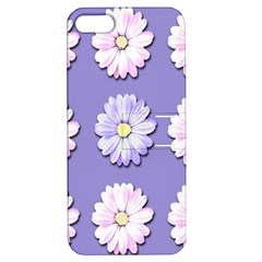 Daisy Flowers Wild Flowers Bloom Apple Iphone 5 Hardshell Case With Stand