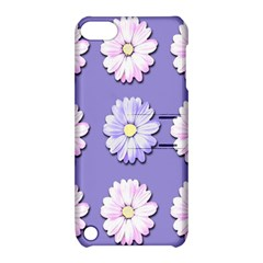 Daisy Flowers Wild Flowers Bloom Apple Ipod Touch 5 Hardshell Case With Stand