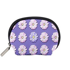Daisy Flowers Wild Flowers Bloom Accessory Pouches (small)