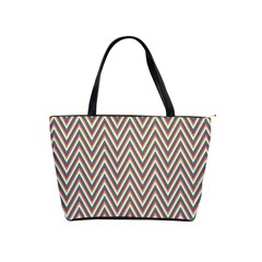 Chevron Retro Pattern Vintage Shoulder Handbags
