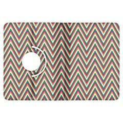 Chevron Retro Pattern Vintage Kindle Fire Hdx Flip 360 Case