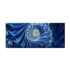 Blue Fractal Abstract Spiral Cosmetic Storage Cases