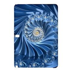 Blue Fractal Abstract Spiral Samsung Galaxy Tab Pro 12 2 Hardshell Case