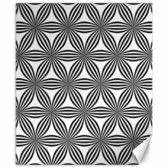 Seamless Pattern Repeat Line Canvas 8  X 10