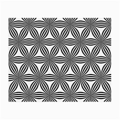 Seamless Pattern Repeat Line Small Glasses Cloth (2 Side)