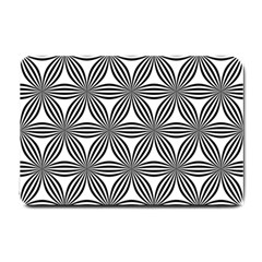 Seamless Pattern Repeat Line Small Doormat