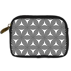Seamless Pattern Repeat Line Digital Camera Cases