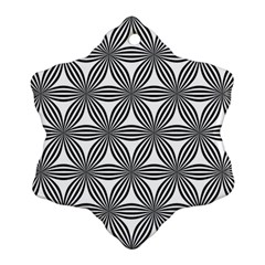 Seamless Pattern Repeat Line Snowflake Ornament (two Sides)