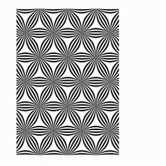 Seamless Pattern Repeat Line Large Garden Flag (two Sides)