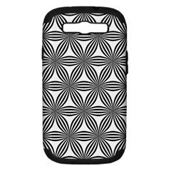 Seamless Pattern Repeat Line Samsung Galaxy S Iii Hardshell Case (pc+silicone)
