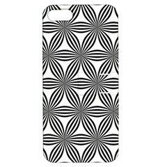 Seamless Pattern Repeat Line Apple Iphone 5 Hardshell Case With Stand