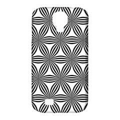 Seamless Pattern Repeat Line Samsung Galaxy S4 Classic Hardshell Case (pc+silicone)