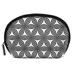 Seamless Pattern Repeat Line Accessory Pouches (large)