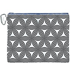 Seamless Pattern Repeat Line Canvas Cosmetic Bag (xxxl)