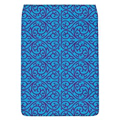 Monogram Blue Purple Background Flap Covers (l)
