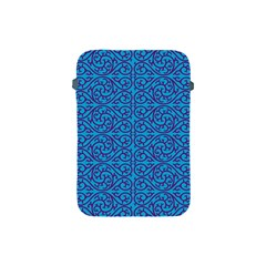 Monogram Blue Purple Background Apple Ipad Mini Protective Soft Cases