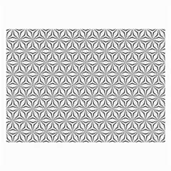 Seamless Pattern Monochrome Repeat Large Glasses Cloth (2 Side)