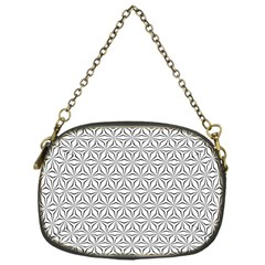 Seamless Pattern Monochrome Repeat Chain Purses (one Side)