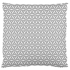 Seamless Pattern Monochrome Repeat Large Cushion Case (two Sides)