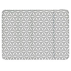 Seamless Pattern Monochrome Repeat Samsung Galaxy Tab 7  P1000 Flip Case