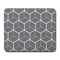 Cube Pattern Cube Seamless Repeat Large Mousepads