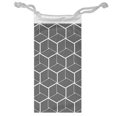 Cube Pattern Cube Seamless Repeat Jewelry Bag