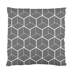 Cube Pattern Cube Seamless Repeat Standard Cushion Case (two Sides)