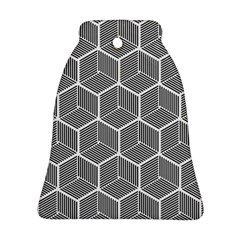 Cube Pattern Cube Seamless Repeat Ornament (bell)