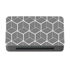 Cube Pattern Cube Seamless Repeat Memory Card Reader With Cf