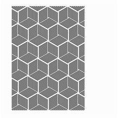 Cube Pattern Cube Seamless Repeat Large Garden Flag (two Sides)
