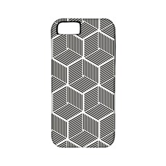 Cube Pattern Cube Seamless Repeat Apple Iphone 5 Classic Hardshell Case (pc+silicone)