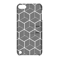 Cube Pattern Cube Seamless Repeat Apple Ipod Touch 5 Hardshell Case With Stand