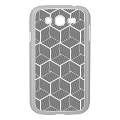 Cube Pattern Cube Seamless Repeat Samsung Galaxy Grand Duos I9082 Case (white)