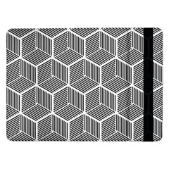 Cube Pattern Cube Seamless Repeat Samsung Galaxy Tab Pro 12 2  Flip Case