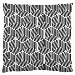 Cube Pattern Cube Seamless Repeat Large Flano Cushion Case (two Sides)