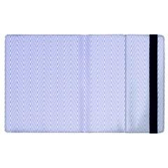 Zigzag Chevron Thin Pattern Apple Ipad 3/4 Flip Case
