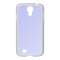 Zigzag Chevron Thin Pattern Samsung Galaxy S4 I9500/ I9505 Case (white)