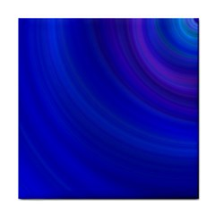 Blue Background Abstract Blue Tile Coasters