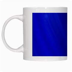 Blue Background Abstract Blue White Mugs