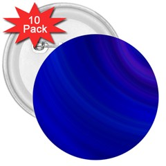 Blue Background Abstract Blue 3  Buttons (10 Pack)
