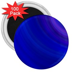 Blue Background Abstract Blue 3  Magnets (100 Pack)