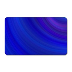 Blue Background Abstract Blue Magnet (rectangular)