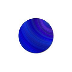 Blue Background Abstract Blue Golf Ball Marker