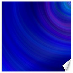 Blue Background Abstract Blue Canvas 12  X 12