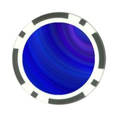 Blue Background Abstract Blue Poker Chip Card Guard (10 Pack)