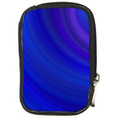 Blue Background Abstract Blue Compact Camera Cases