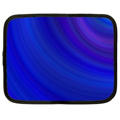 Blue Background Abstract Blue Netbook Case (xl)
