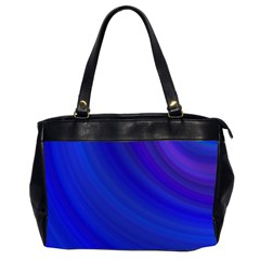 Blue Background Abstract Blue Office Handbags (2 Sides)