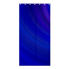Blue Background Abstract Blue Shower Curtain 36  X 72  (stall)